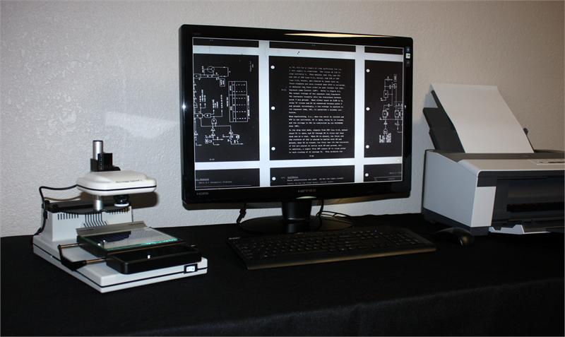 Micro Image Capture Microfilm Amp Microfiche Digital Viewer